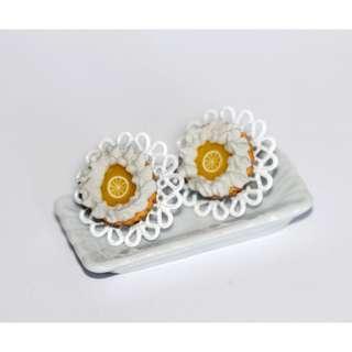 Lemon Pie Earrings (178)