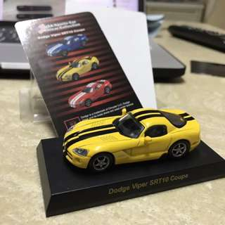 Kyosho 1/64 Dodge Viper SRT10 Coupe