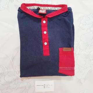 Kaos Polo: Emphatic Platinum Polo Shirt Red Navy (XS-S)