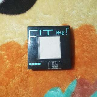 MAYBELLINE FIT ME POWDER IN 100 TRANSLUCENT