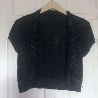 Sparkly Black Cover Up