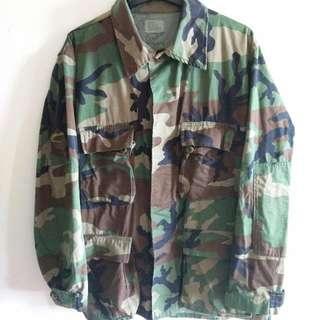 Camouflage Army Jacket