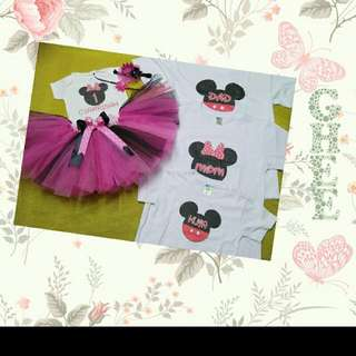 Tutu Dress Family Set