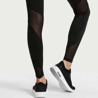 Victoria Secrets Leggings with Mesh