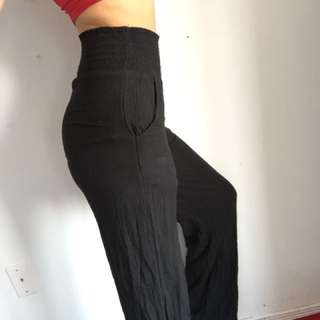 COACHELLA INSPIRED HIGH WAISTED PANT