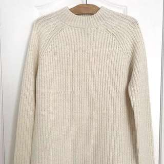 Forever 21 Knit Cream Sweater
