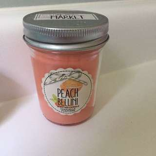 Peach Bath and Body Works Candle