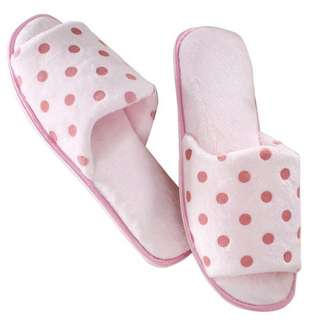 Bn Memory Foam Polka Dot Print Slipper