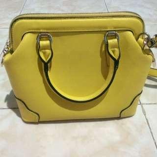 Yelow Fashion Bag