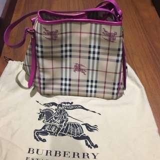 Burberry Haymarket Check Tote