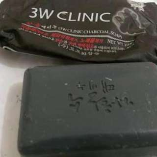 3W Clinic Charcoal Soap