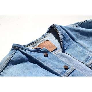 VTG Custom Levis Denim Jacket Size M