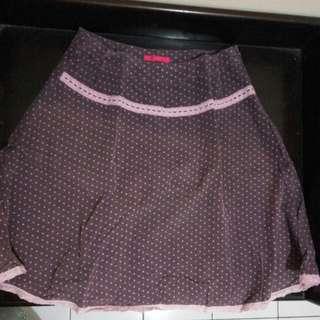 Purple Dot Skirt