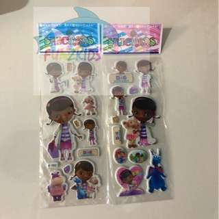 Doc Mcstuffins - Bubble Sticker