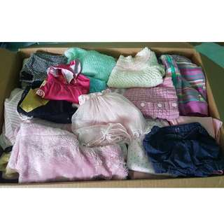 Baby Girl 80+ Piece Lot