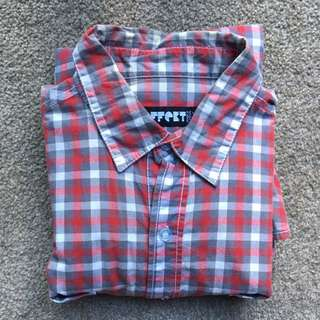 EFFECT - Plaid shirt