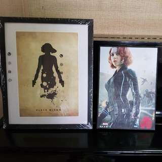[Selling] Black Widow Posters With Frame