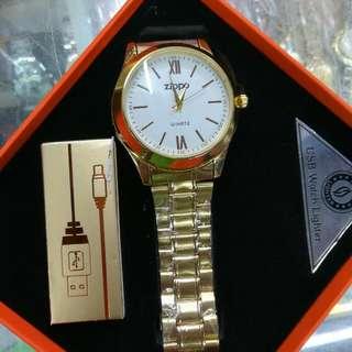 Zippo Watch & Lighter