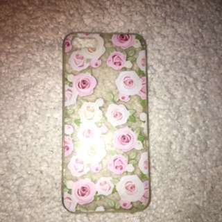 Clear Flower Case