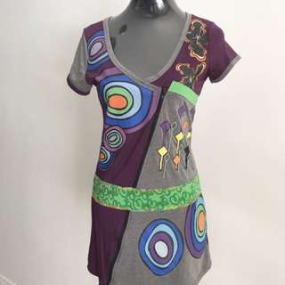 Painter's Abstract Dress