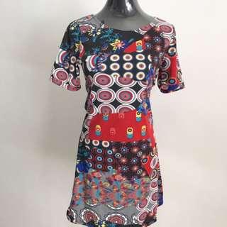 Modern Circles Dress