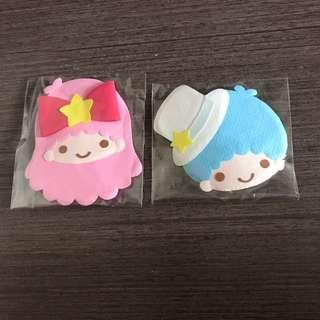 Sanrio Puroland Little Twin Stars 紙頭飾