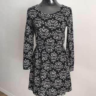 Black Damask Dress