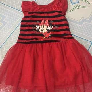 Minie Mouse Tutu Skirt