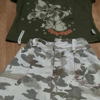 Set  (Shirt/ Skirt) Robby Rabbit
