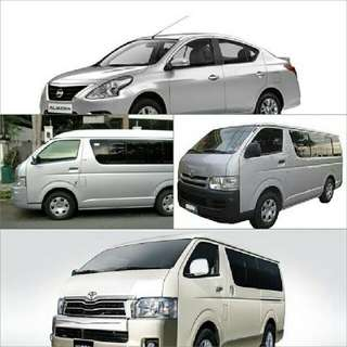Van And Car For Rent