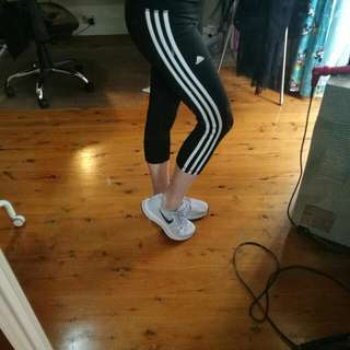 ADIDAS 3 Stripes 3/4 Tights