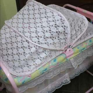 Baby Cot With Net
