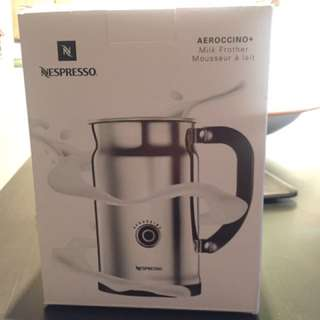 Nespresso Milk Frothed