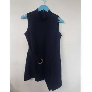 Formal Dark Blue Top