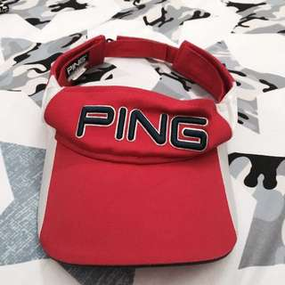 Ping Golf Red Cap