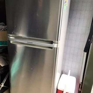 Large Mitsubishi Fridge Freezer