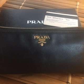 Authentic PRADA Saffiano wallet Purse