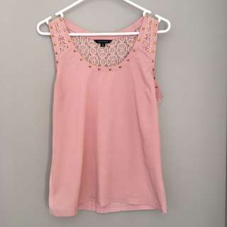 Portmans Size Small Dusty pink Top