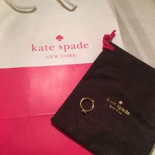 Kate Spade Gold Adjustable Ring