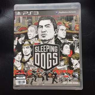 Sony PS3 Game Sleeping Dogs