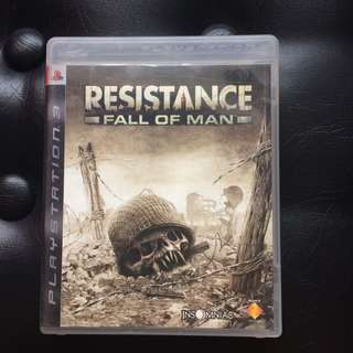 Sony PS3 Game Resistance