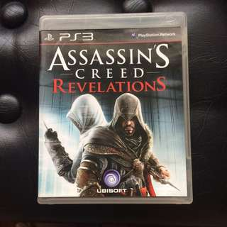 Sony PS3 Game Assassin's Creed Revelations (No Manual)