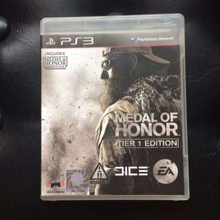 Sony PS3 Game Medal of Honor Free MoH Frontline
