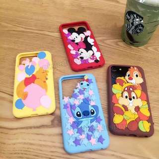 Winnie the Pooh / Chip And Dale / stitch / Mickey And Minnie Phone Casing