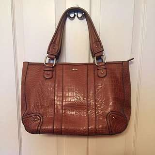 Jag Leather Large Handbag