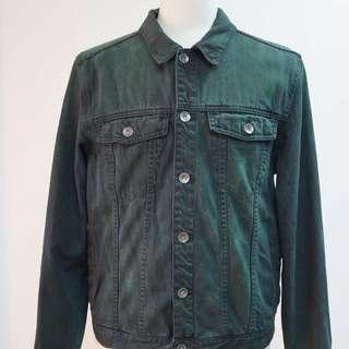 Jeanswest Dark Emerald Denim Jacket