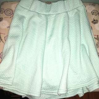 H&M Turquoise Skirt