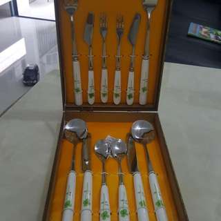 Four-leave Clover Cutlery Set