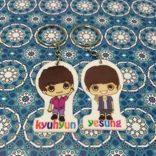 Super Junior Chibi Key chain