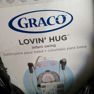 Graco Infant Pink Swing